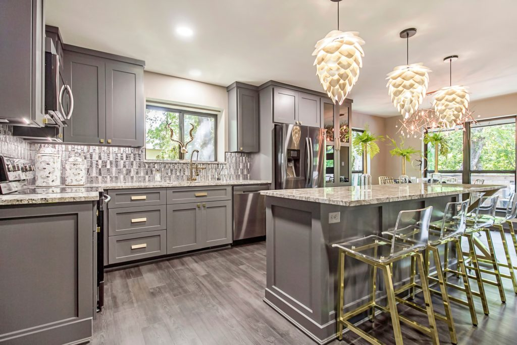Beautiful Mansion Kitchen