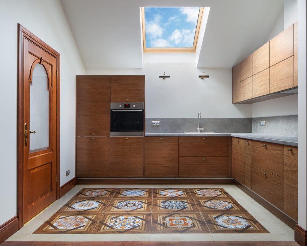 Ceiling Kitchen Window