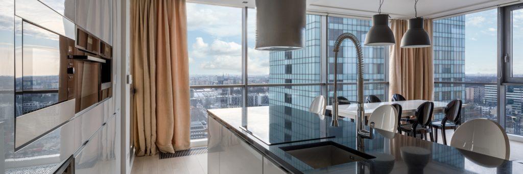 City View Kitchen Windows