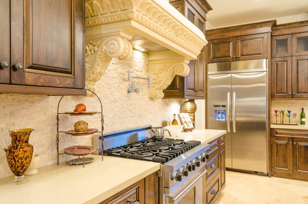 Detailed Mansion Kitchen