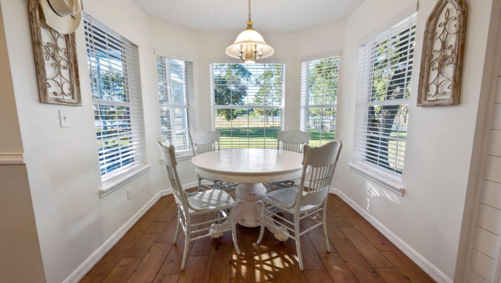 Dining Area Kitchen Windows
