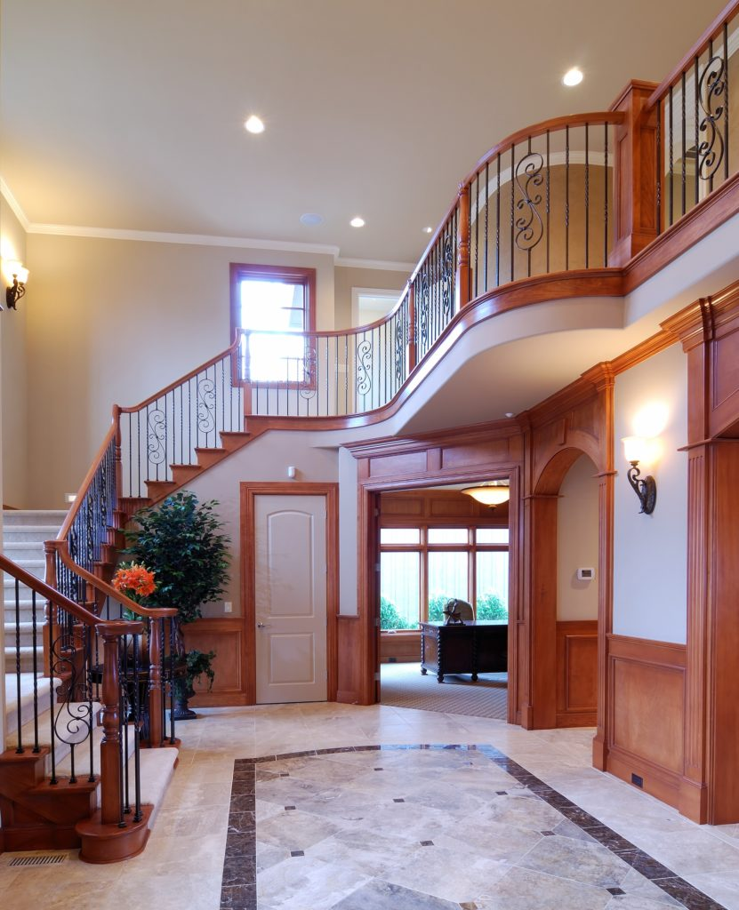 Marble House Entrance Decor