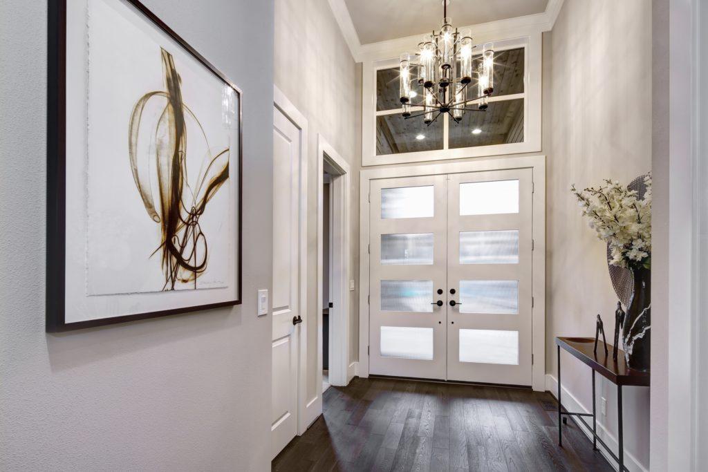 Modern House Entrance Decor