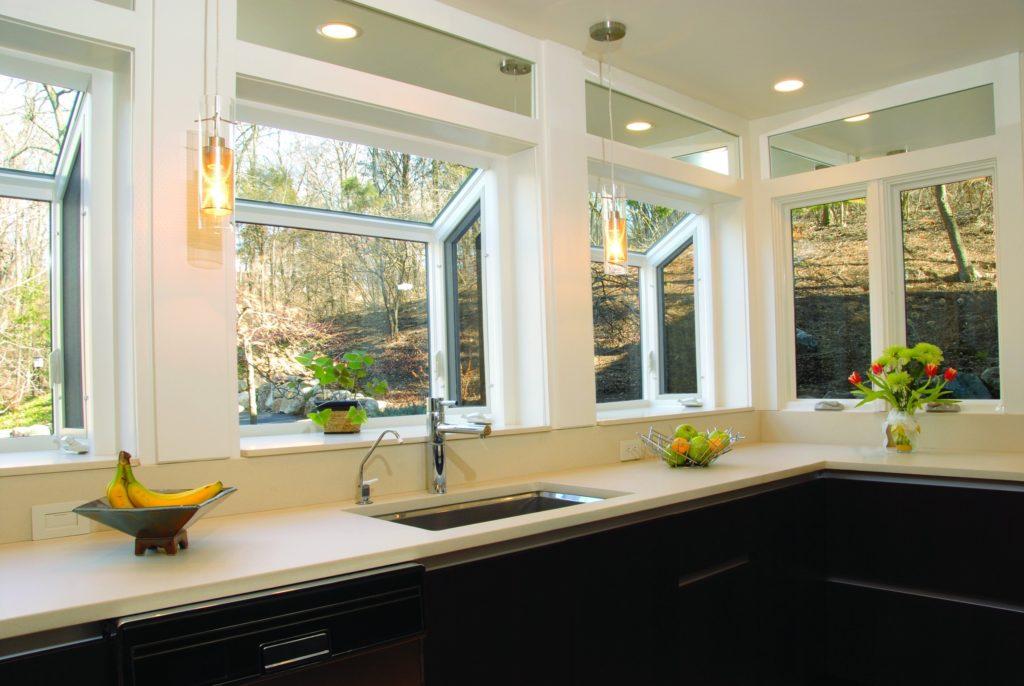 Multiple Kitchen Windows