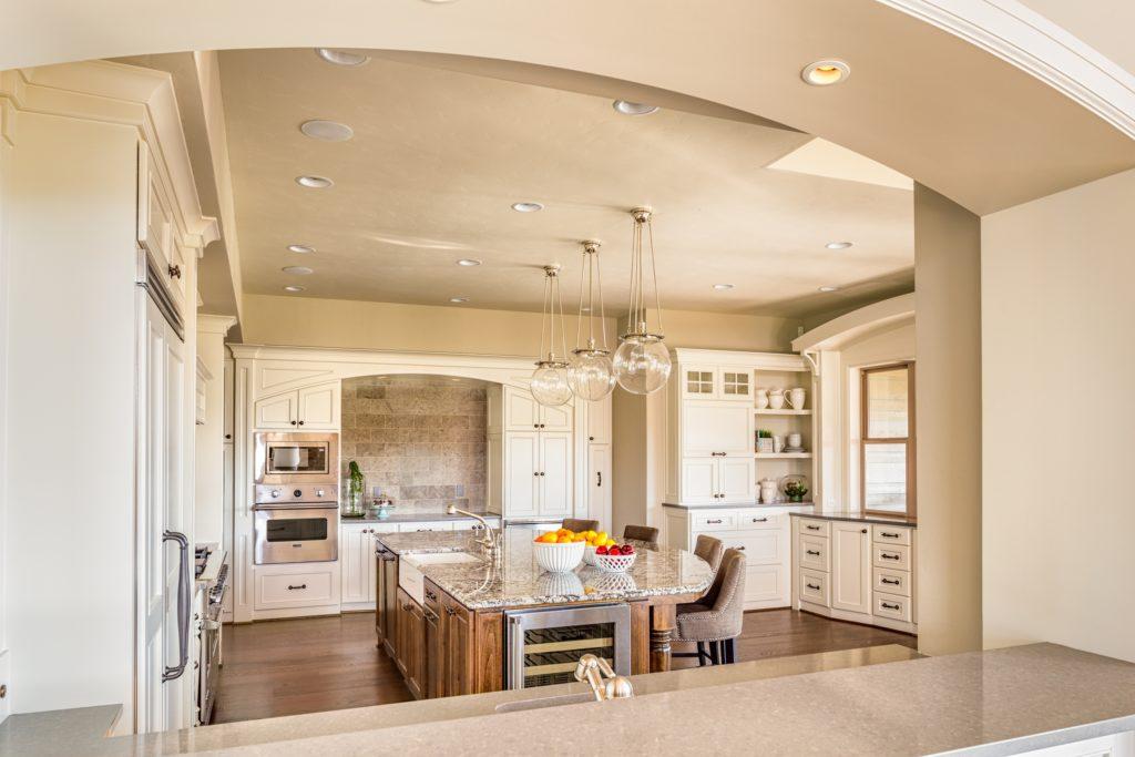 Neutral Mansion Kitchen