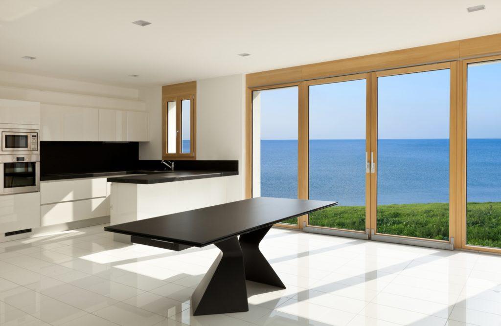 Panoramic Kitchen Windows