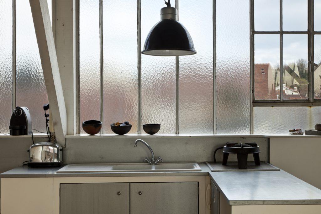 Privacy Kitchen Window