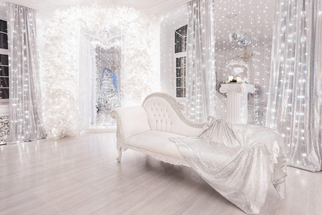 Retro Silver Living Room