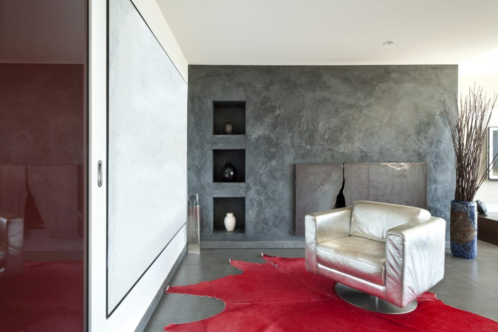 Silver Armchair Living Room