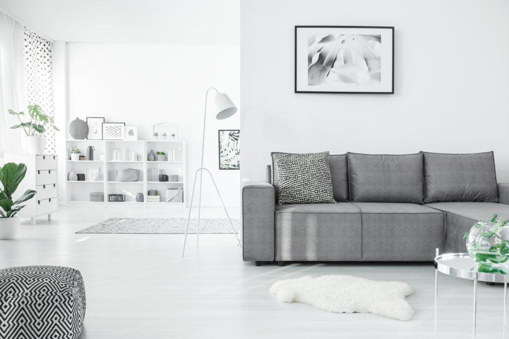 Silver Gray Living Room