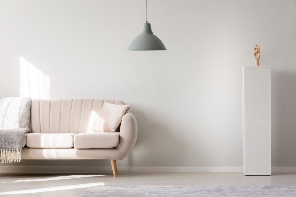 Silver Lamp Living Room Decor