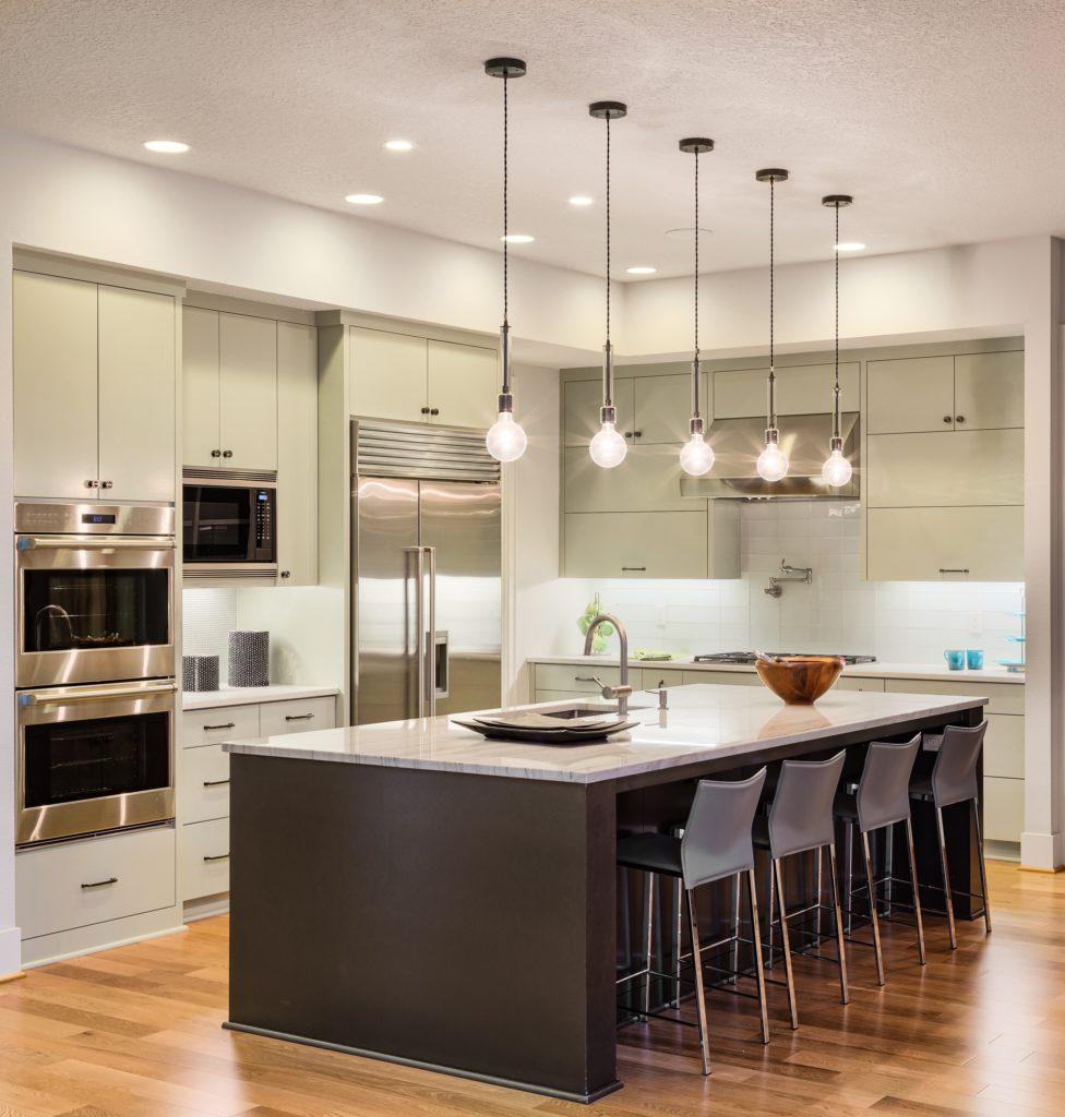 Stainless Steel Mansion Kitchen