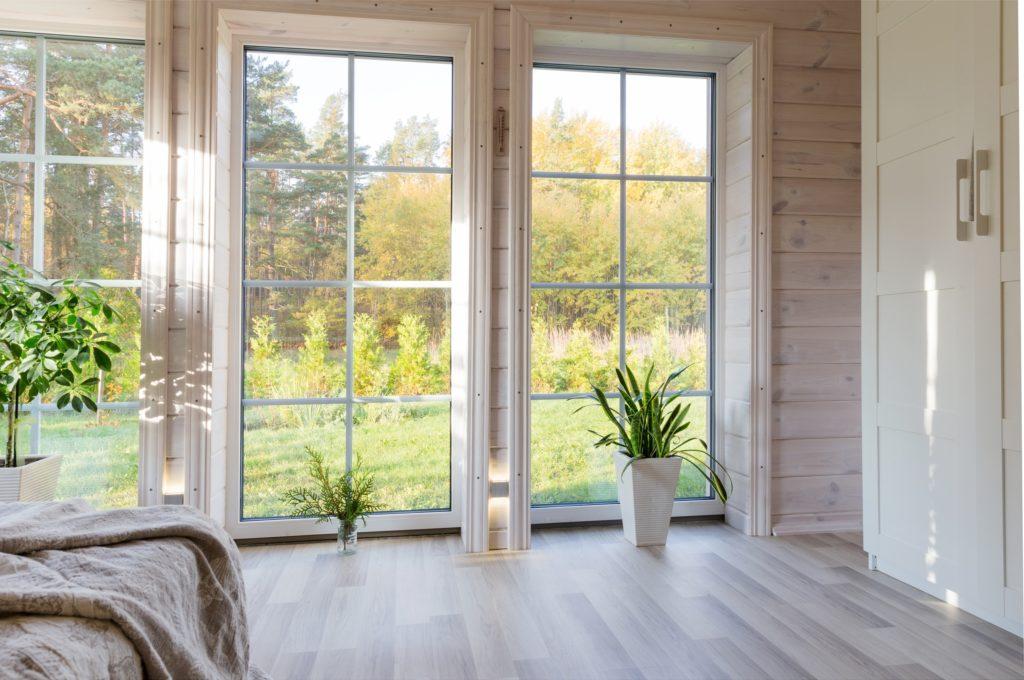 Standing Kitchen Window