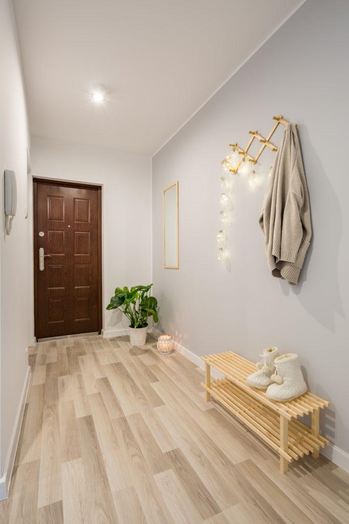 Wood Floors House Entrance Decor