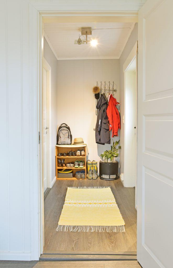 Yellow Rug House Entrance Decor