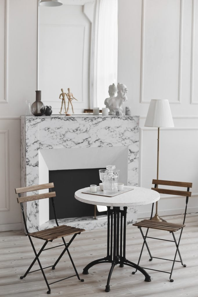 Fireplace Table and Chairs