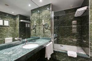 Forest Green Bathroom