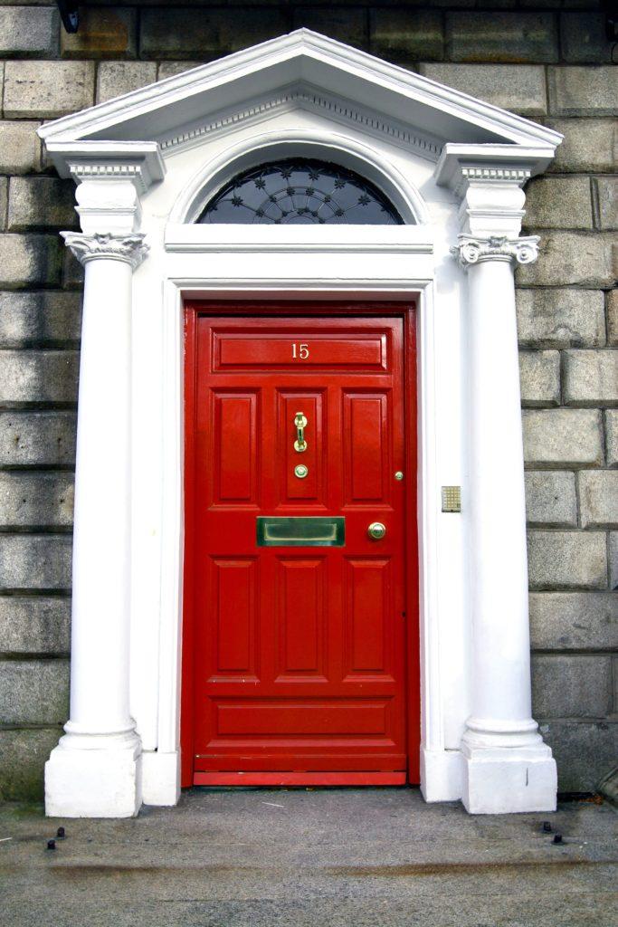 Georgian Red Door