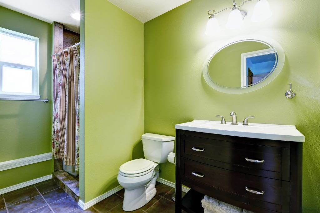 Light Green Bathroom