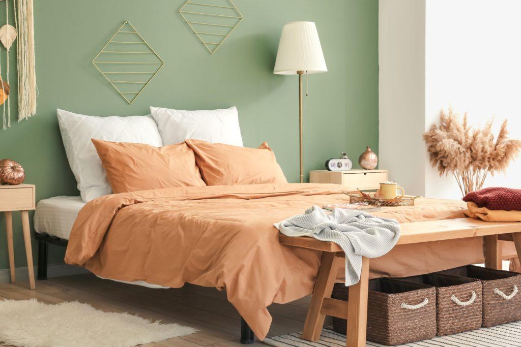 Light Orange Bedroom