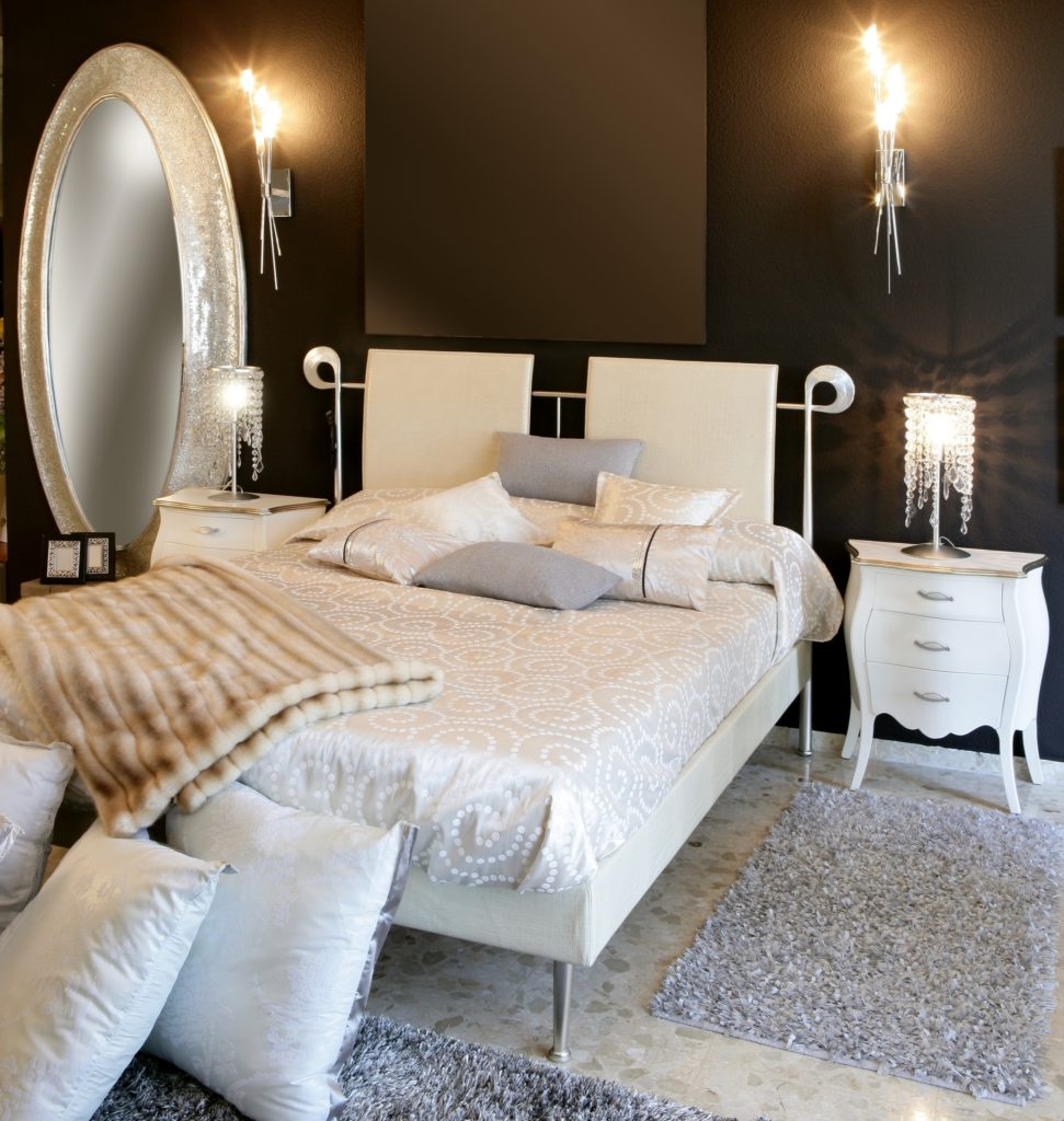 Light Silver Bedroom