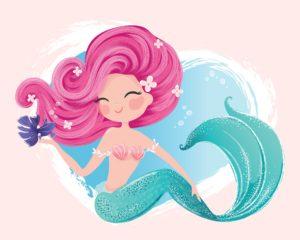 Mermaid Shower Curtains
