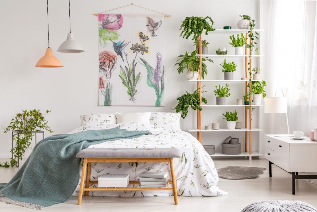 Nature Wall Bedroom