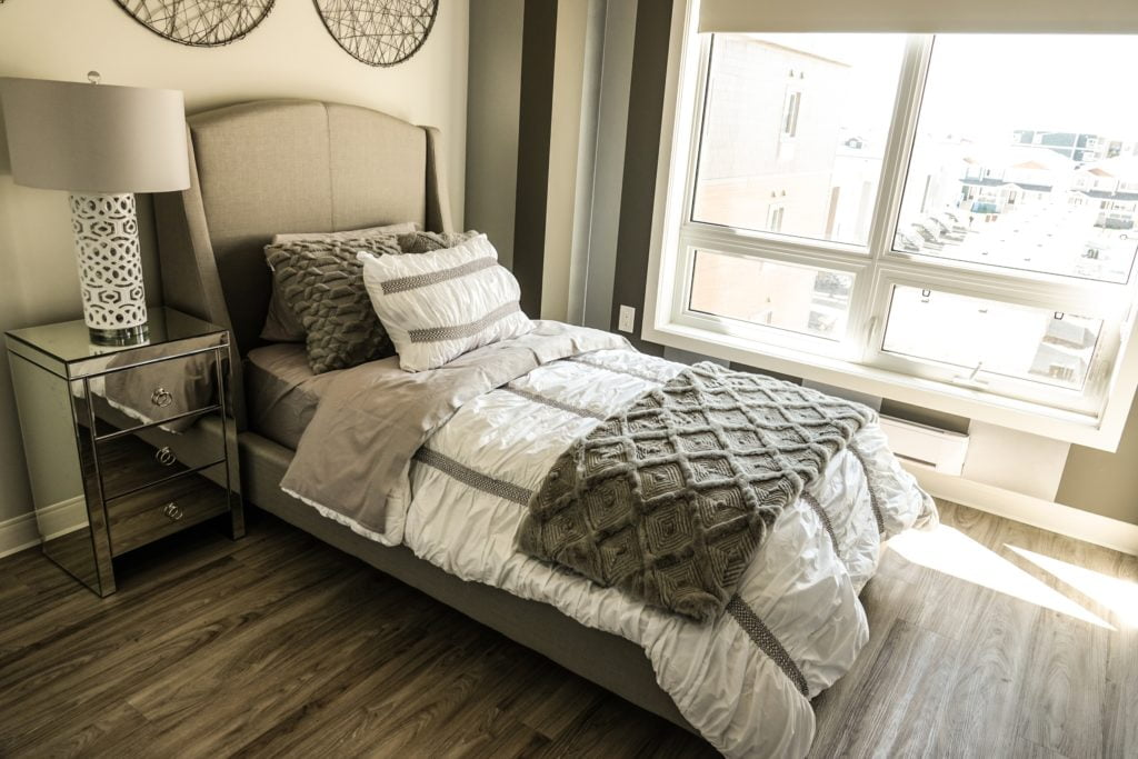 Neutral Silver Bedroom