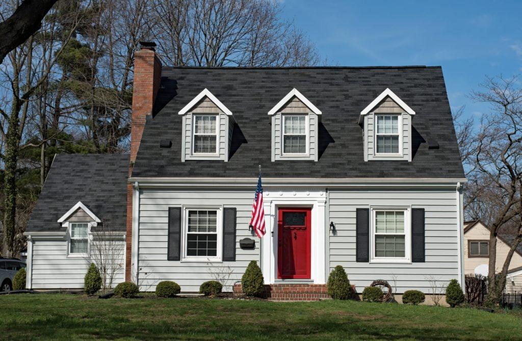 Red Door Gray Home