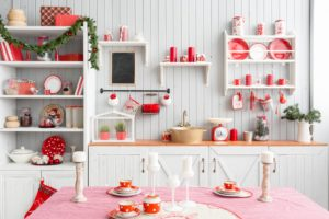 Red Kitchen Wall Décor