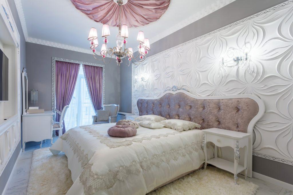 Silver Lilac Bedroom