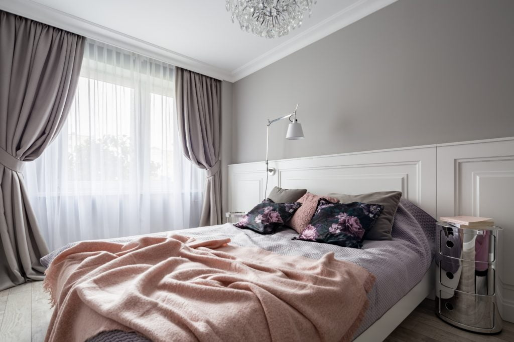 Silver Pastel Bedroom
