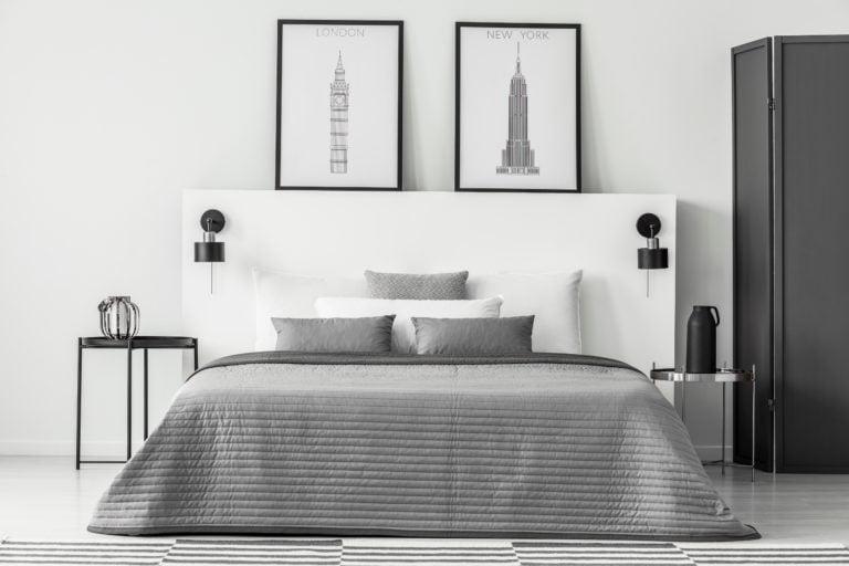 Silver Spread Bedroom