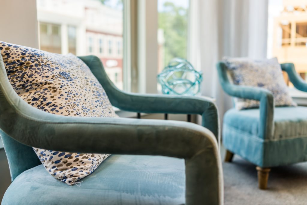Teal Chairs Living Room