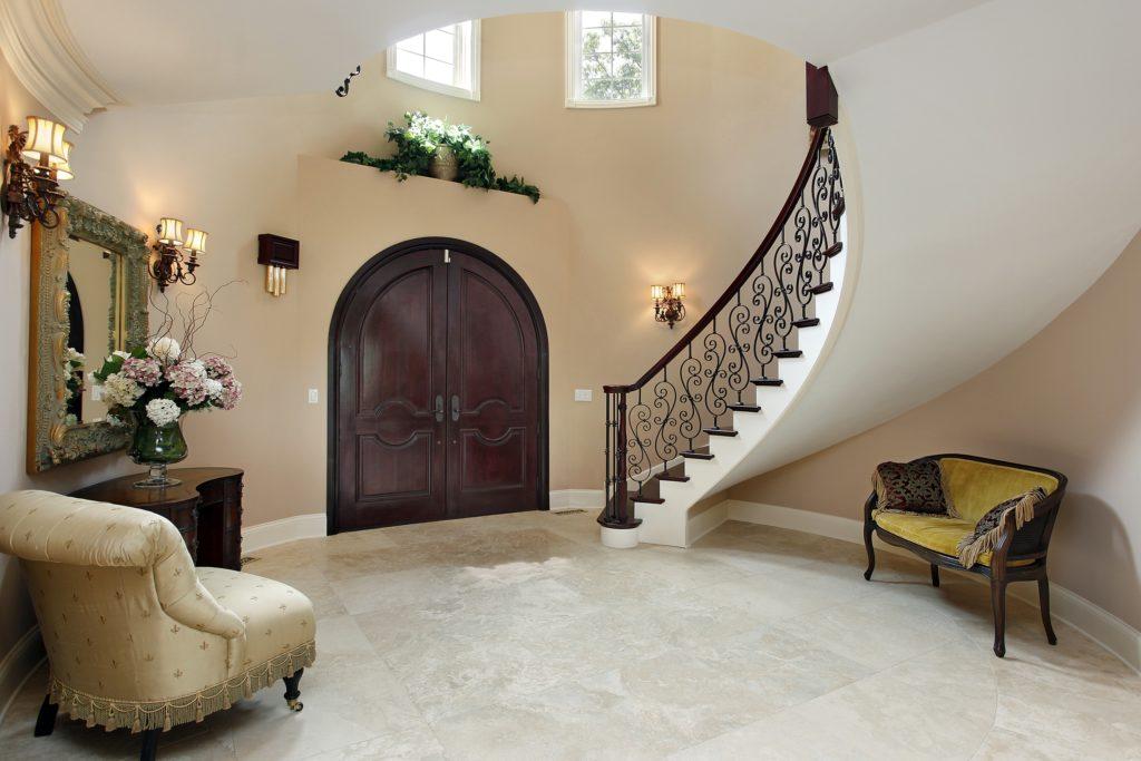 Arched Doorway Foyer