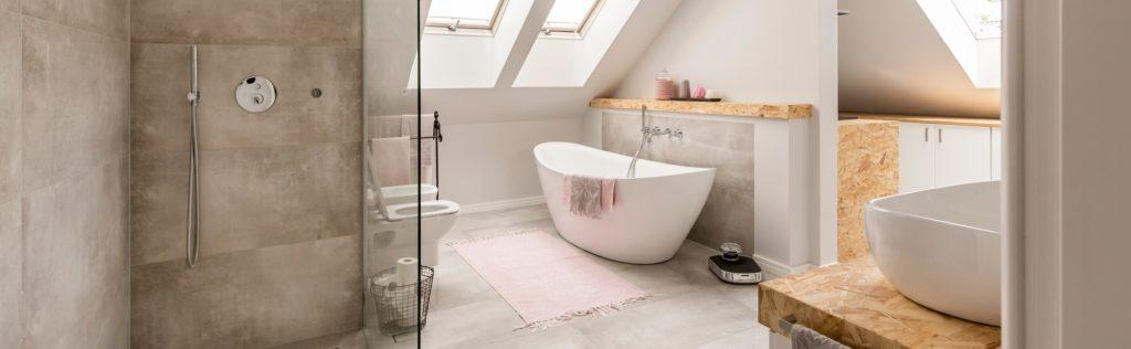 Attic Mansion Bathroom