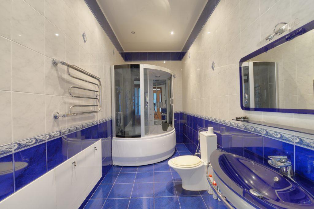 Blue Mansion Bathroom