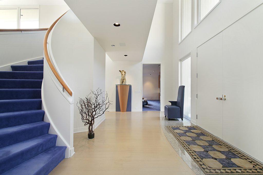 Blue Mansion Foyer