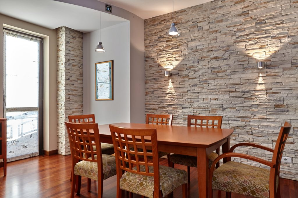 Brick Dining Room
