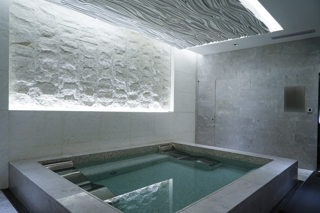 Concrete Indoor Pool