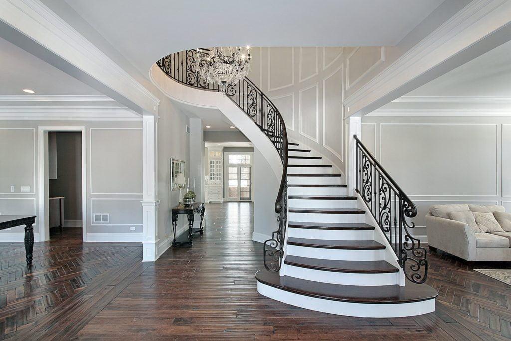 Crystal Chandelier Foyer