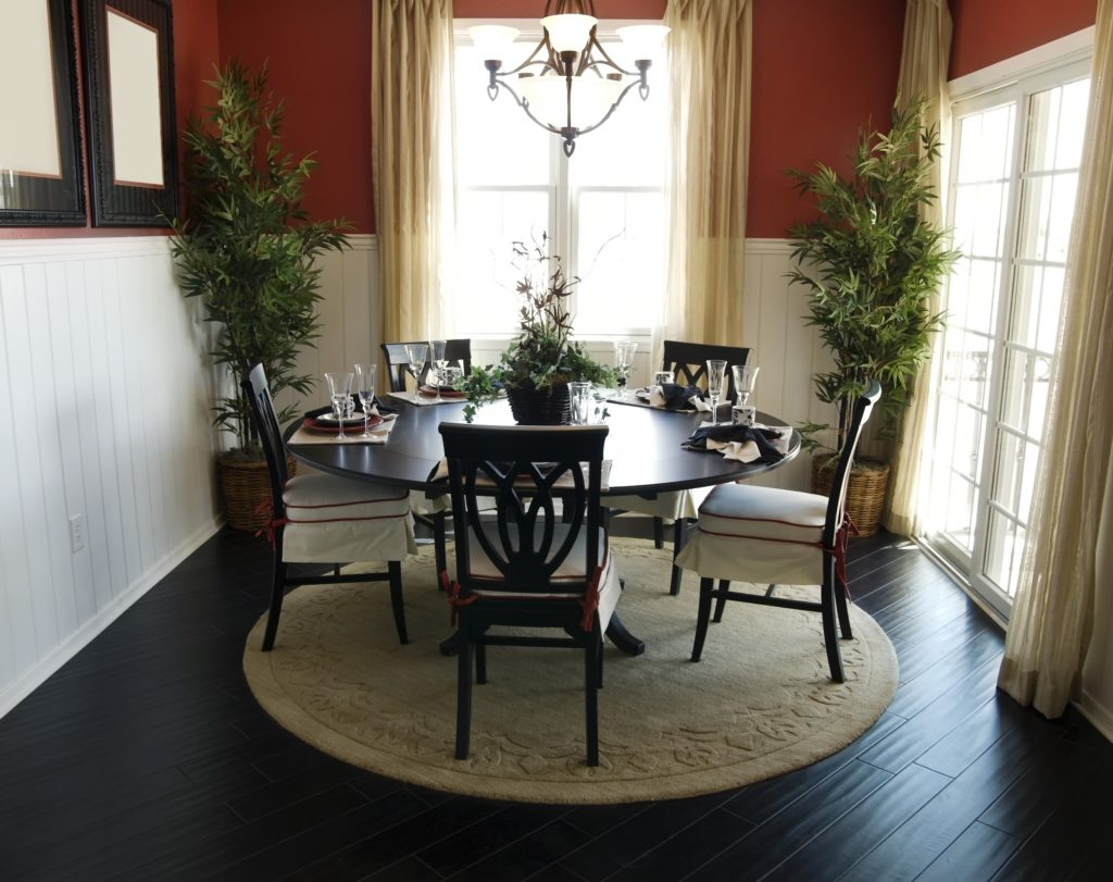 Dark Dining Room