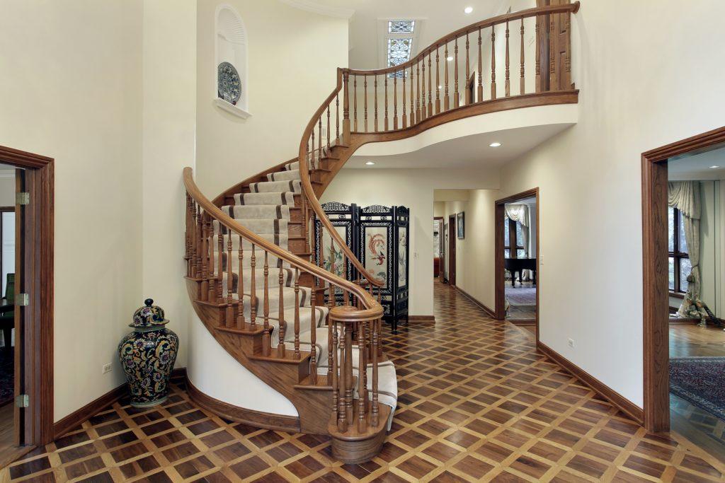 Detailed Floor Mansion Foyer