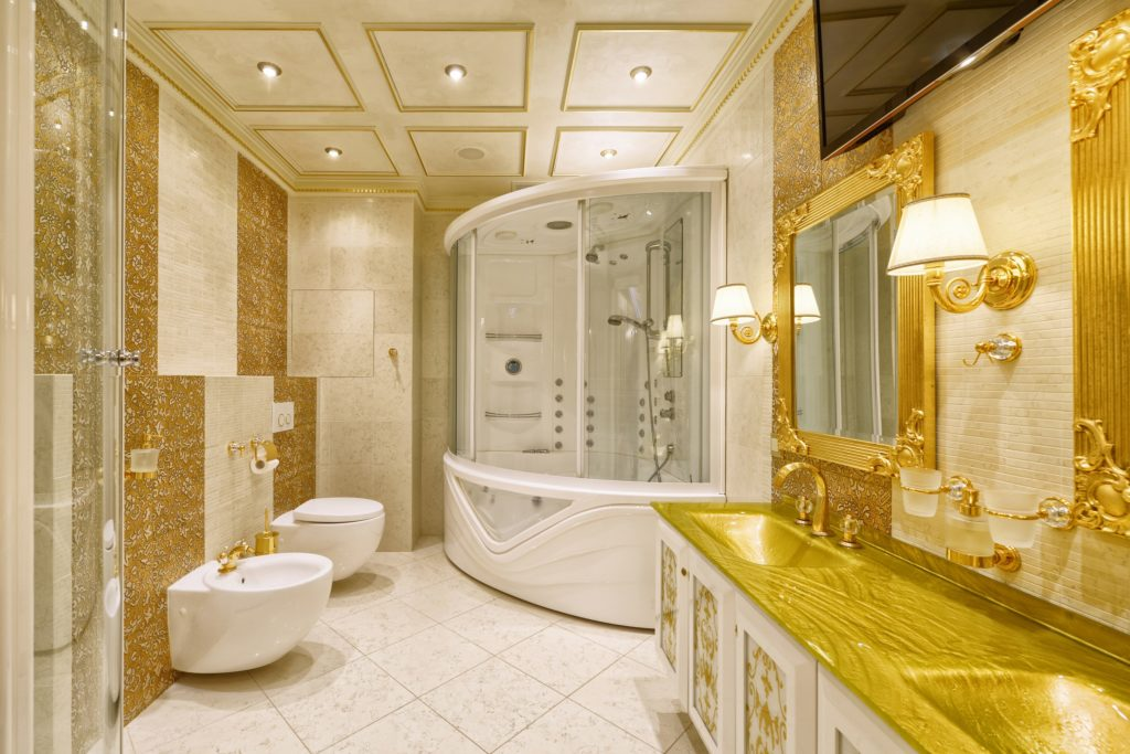 Gold Mansion Bathroom