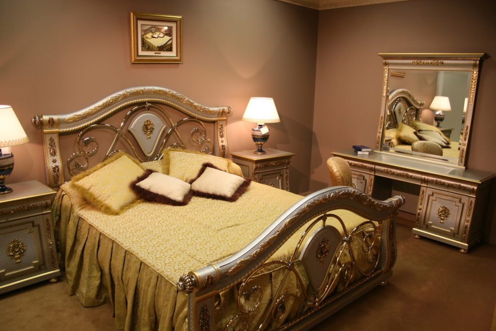 Gold and Yellow Bedroom