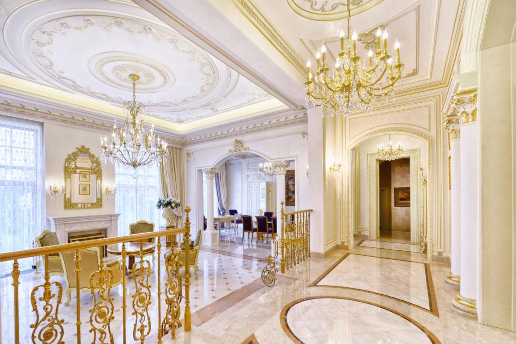 Golden Mansion Entrance
