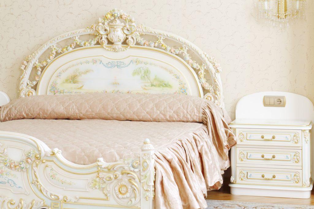 Golden-White Bedroom