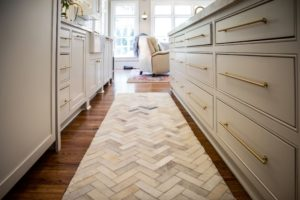 L-Shaped Kitchen Rugs