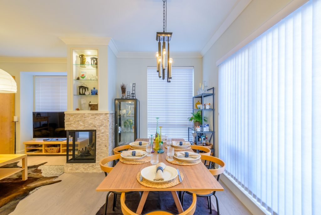 Light Wood Dining Room