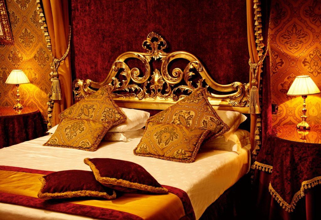 Luxury Golden Bedroom